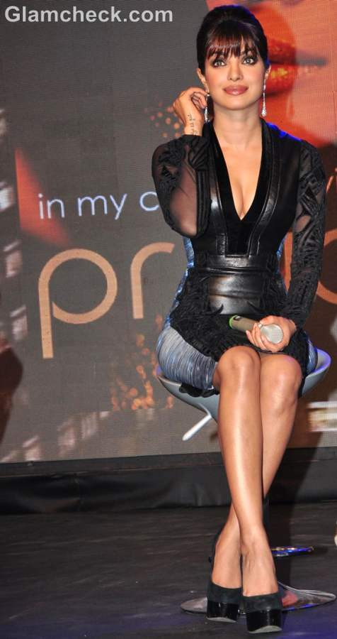 Priyanka Chopra At The Launch Of Her Debut Music Album In