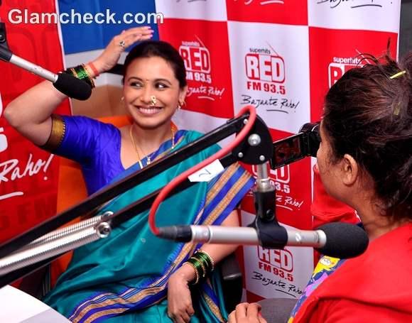 Rani Mukherjee Aiyya  promotion Radio Mirchi