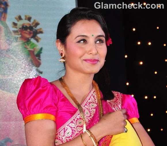 Rani Mukherjee at the music launch of Aiyyaa