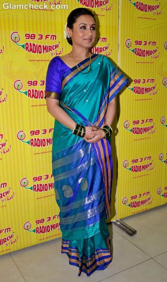 Rani Mukherjee Promotes Aiyya at Radio Mirchi and Red FM in Mumbai