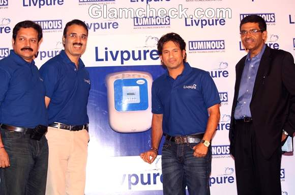 Sachin Tendulkar promotes Livepure RO water purifier