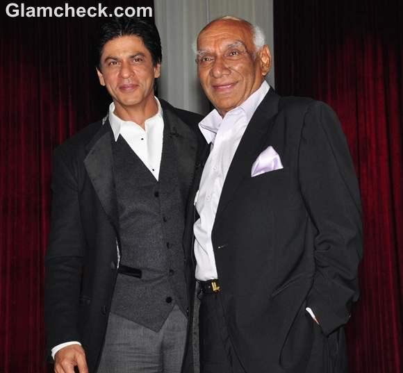 Shahrukh Khan at Yash Chopra 80th birthday