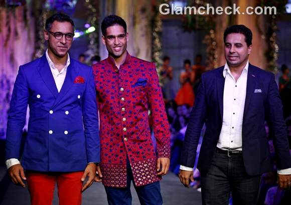 Siddharth Mallya for Shantanu Nikhil at India Bridal Fashion Week 2012