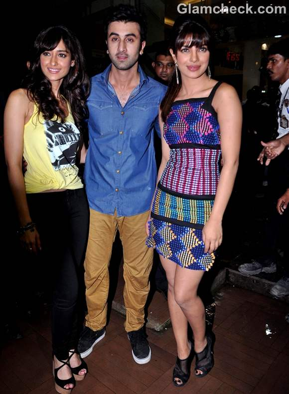 Stars of Barfi priyanka chopra 2012