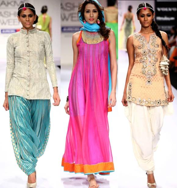 Traditional Ethnic Costumes looks Ganesh Chaturthi 2012