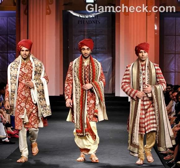 Vikram Phadnis india bridal fashion week 2012