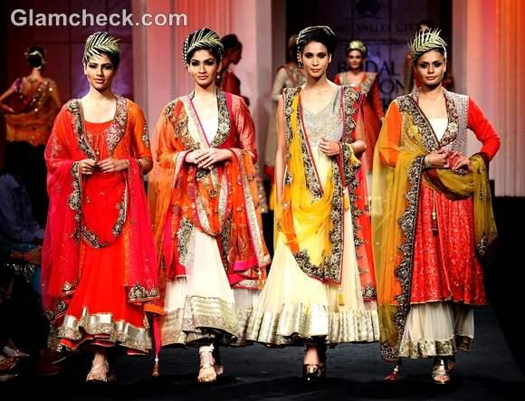 Vikram Phadnis show india bridal fashion week 2012