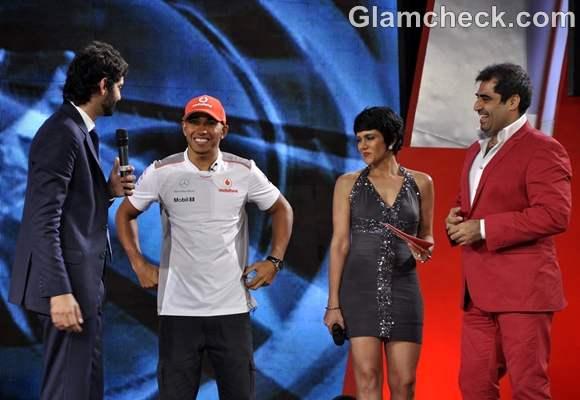 Vodafone Speed Fest graced by McLaren Mercedes driver Lewis Hamilton-2