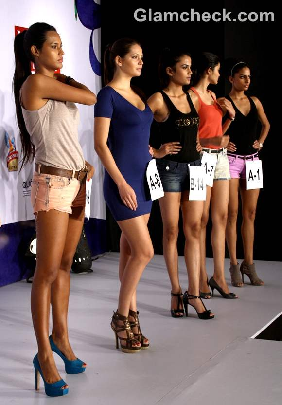 WIFW spring-summer 2013 model auditions