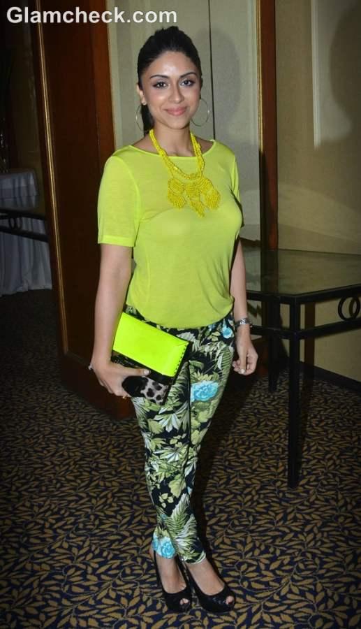 Zoa Morani neon fashion trend