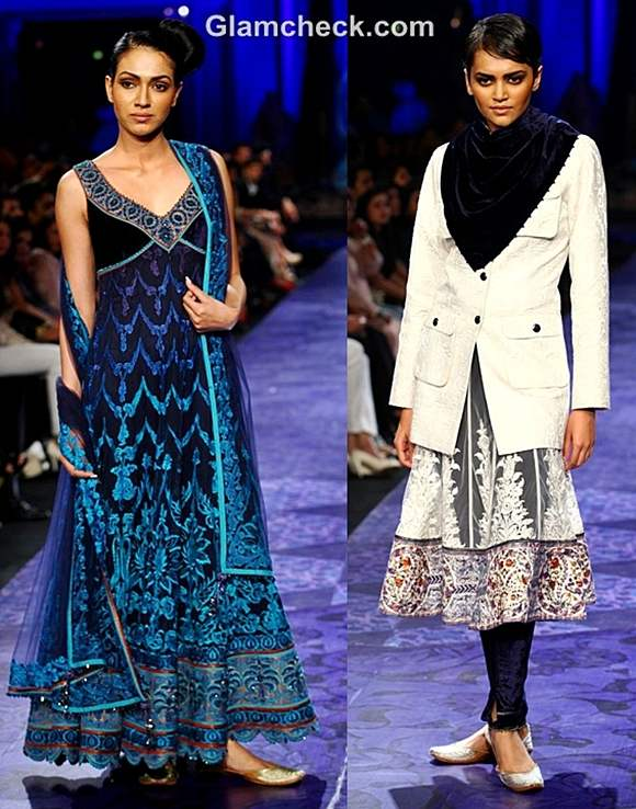 aamby valley india bridal fashion week 2012 JJ Valaya grand finale collection