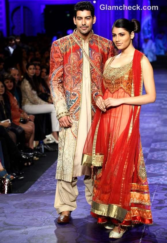 aamby valley india bridal fashion week 2012 JJ Valaya grand finale show-2