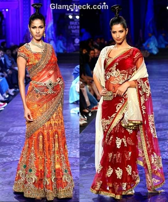 aamby valley india bridal fashion week 2012 JJ Valaya grand finale show