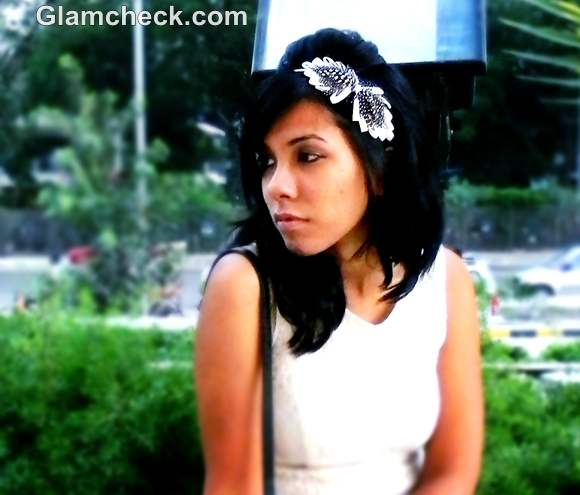 feather hairband accessories