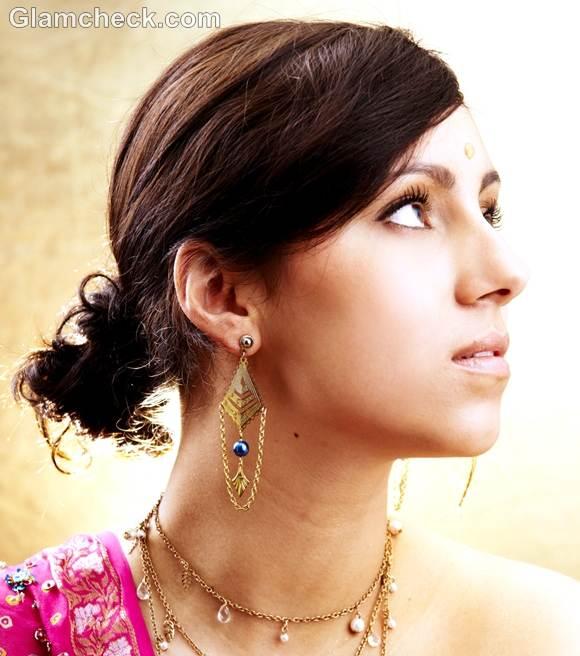 ganesh chaturthi beauty look hair