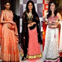 how to dress traditional ethnic Ganesh Chaturthi 2012