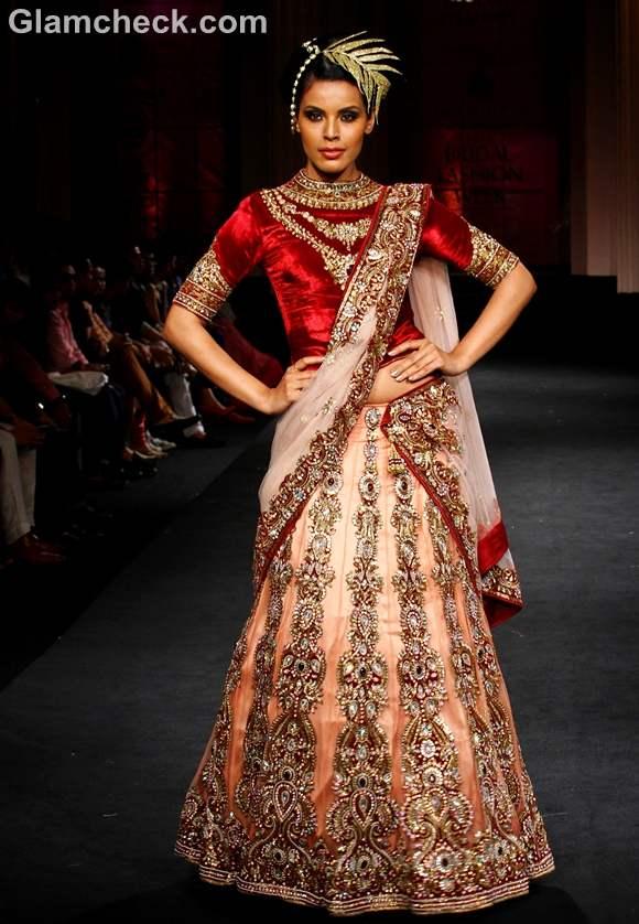india bridal fashion week 2012 Vikram Phadnis show