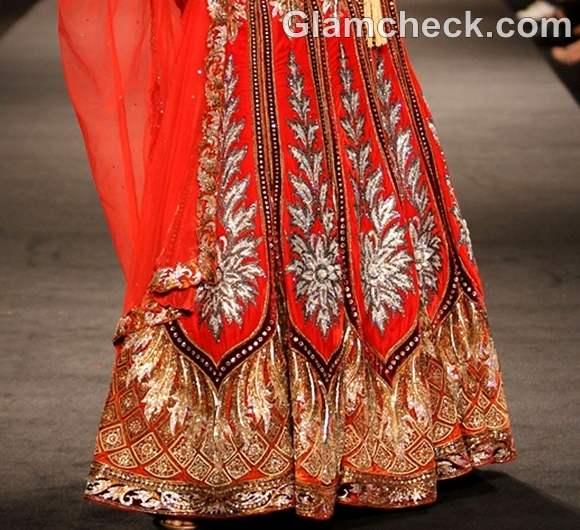 india bridal week 2012 Anjalee Arjun Kapoor designs