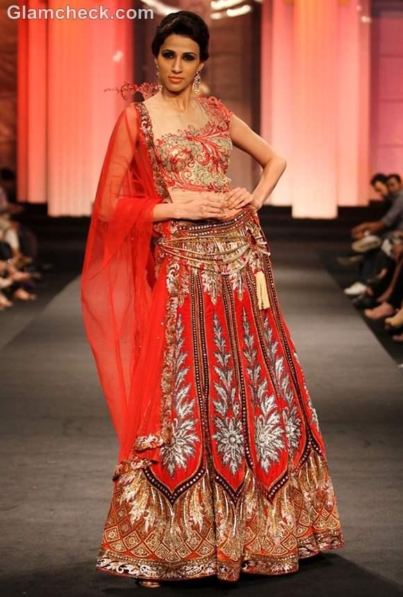 india bridal week 2012 Anjalee Arjun Kapoor show
