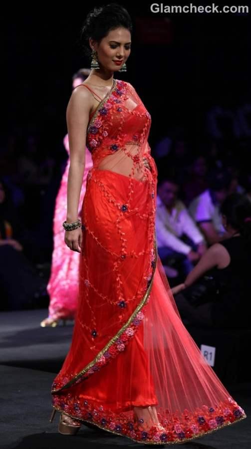 jyotsna Tiwari Aamby Valley India Bridal Fashion Week 2012-2