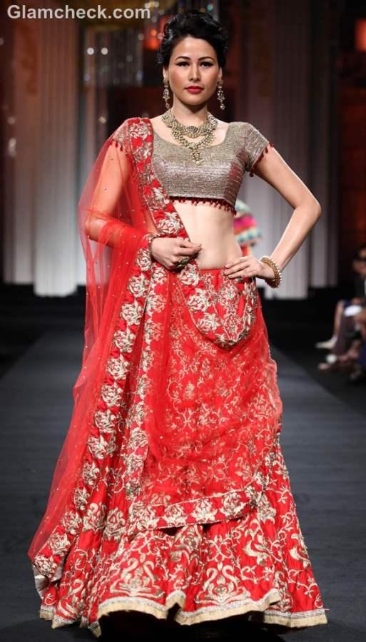jyotsna Tiwari Aamby Valley India Bridal Fashion Week 2012-3