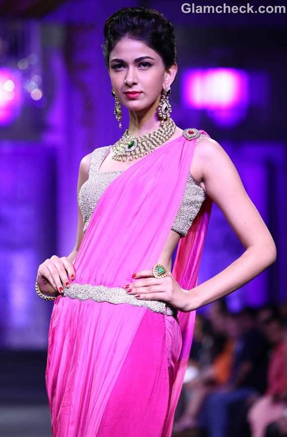 jyotsna Tiwari Aamby Valley India Bridal Fashion Week 2012