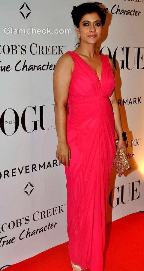 kajol at Vogue 5th Anniversary Bash