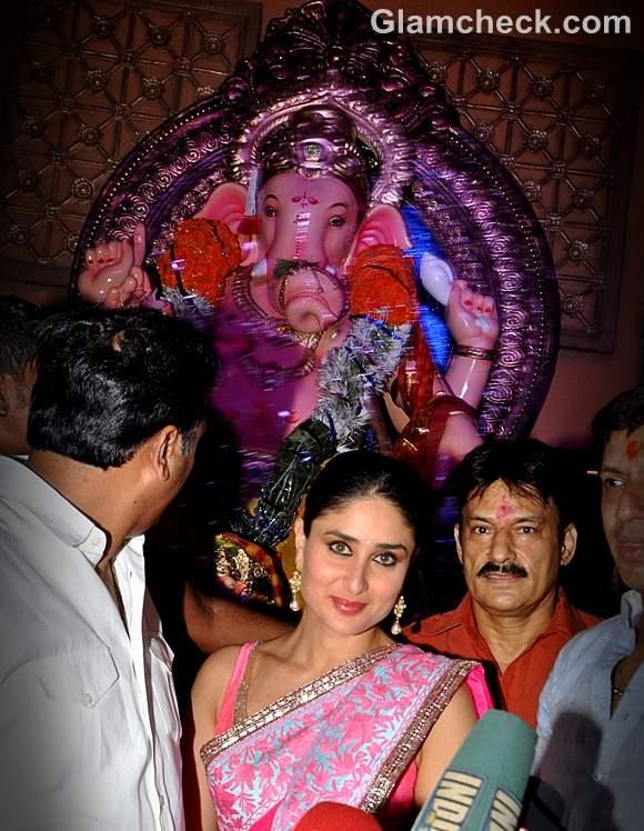 kareena kapoor ganesh chaturthi 2012