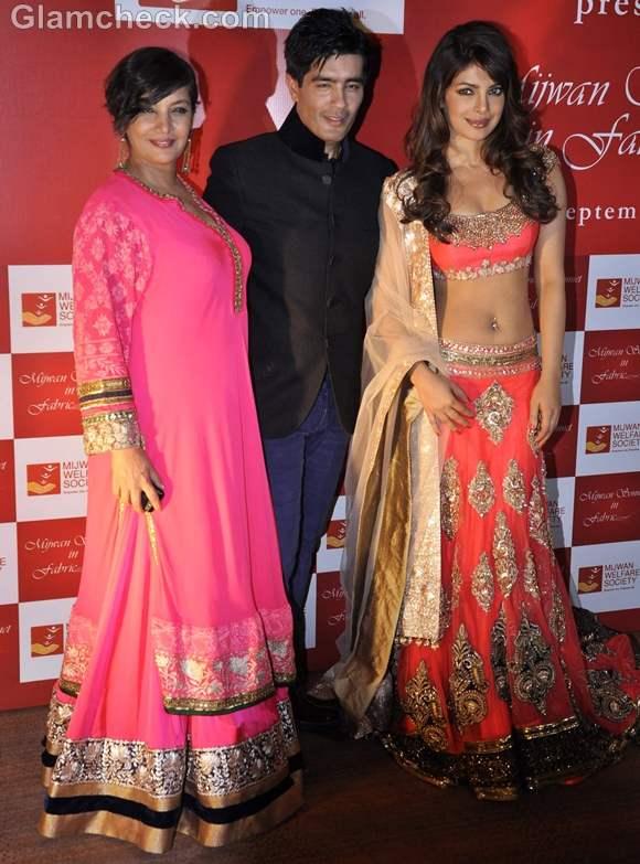 shabana azmi ngo fashion show manish malhotra