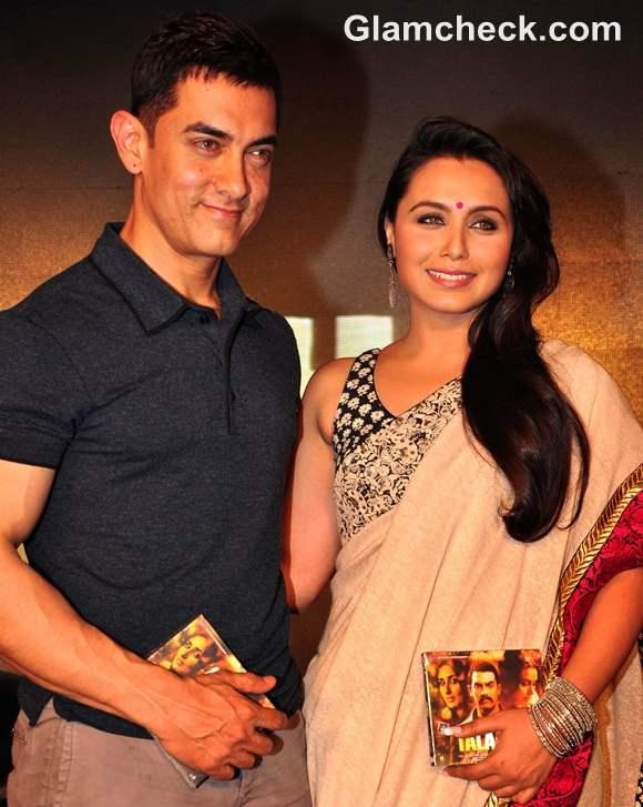 Aamir Khan Rani Mukherjee Launch Music talaash