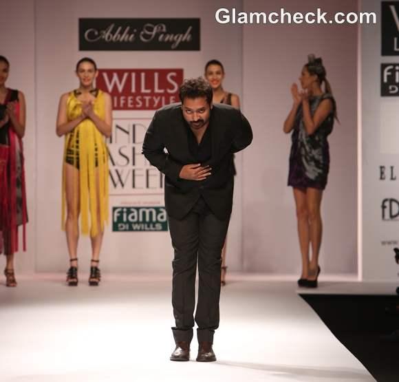 Abhi Singh wifw s-s 2013 show
