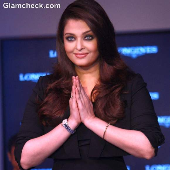 Aishwarya Rai Bachchan Longines New Saint Imier Collection