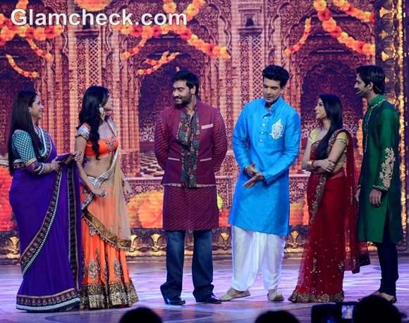 Ajay Devgan for Star Parivaar Diwali Special