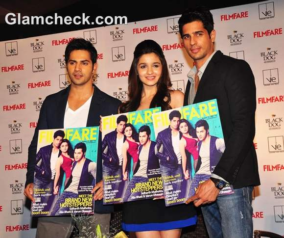 Alia Bhatt at the Film Fare October Cover Launch
