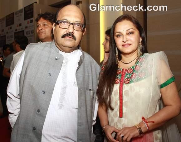 Amar singh Jayaprada Watch World Awards 2012