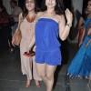 Ameesha Patel blue Jumpsuit at Awaz Dil Se Album Launch