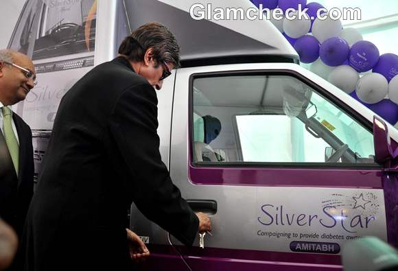 Amitabh Bachchan Launched Mobile Diabetes Van by Seven Hills Hospital