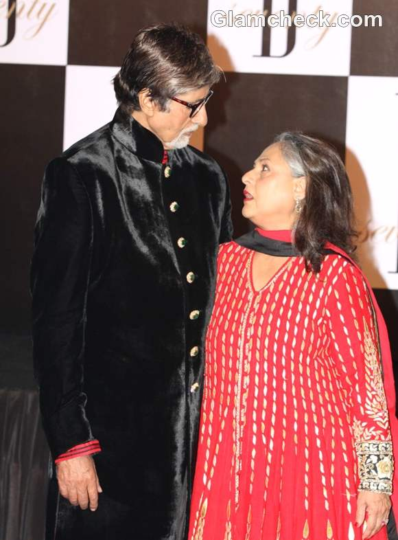 Amitabh Bachchan jaya at 70th Bday 2012