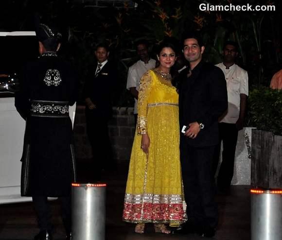 Amrita Arora  Saif Kareena Post Wedding Party Taj Mahal Hotel