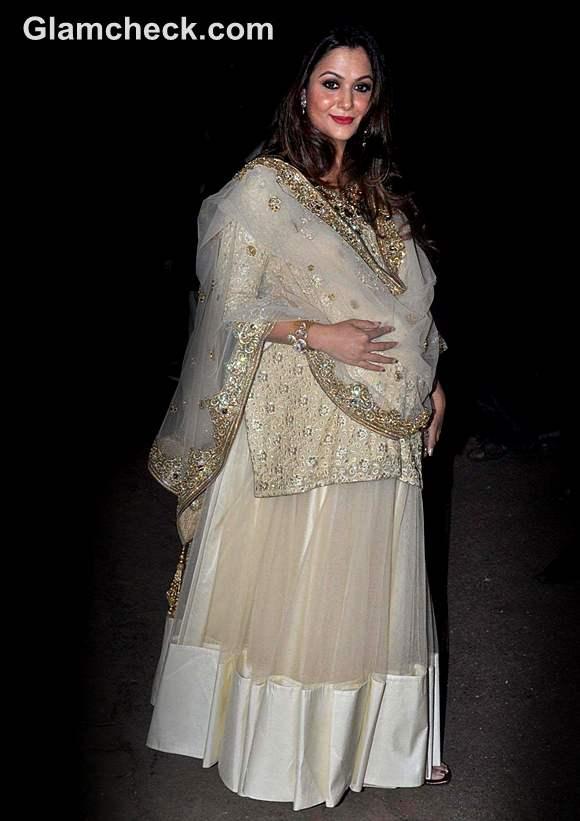 Amrita Arora at Saif Ali Khan Kareena Kapoor Sangeet Ceremony