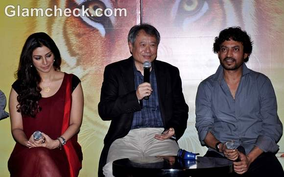 Ang lee promotes life of pi with cast in mumbai for Life of pi book characters