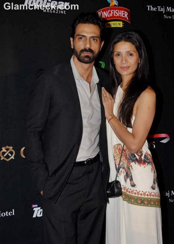 Arjun and Mehr Rampal LAP F1 after party Delhi