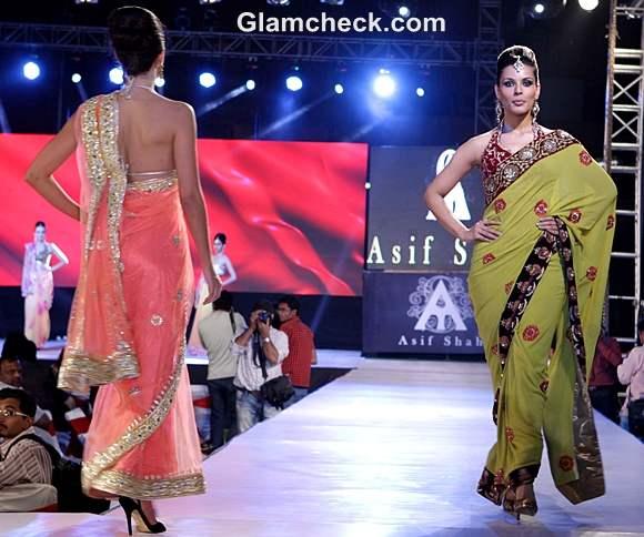 Asif Shah collection saris