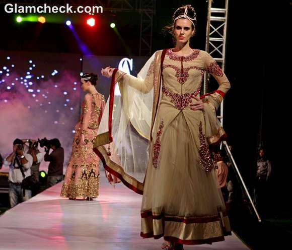Asif Shah collections 2012 lehengas