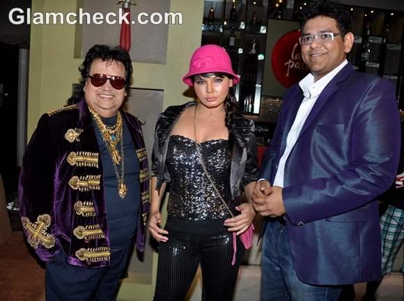 Bappi Lahiri Dhumketu Punatar Rakhi Sawant Its Rocking Dard-e-Disco Music Release