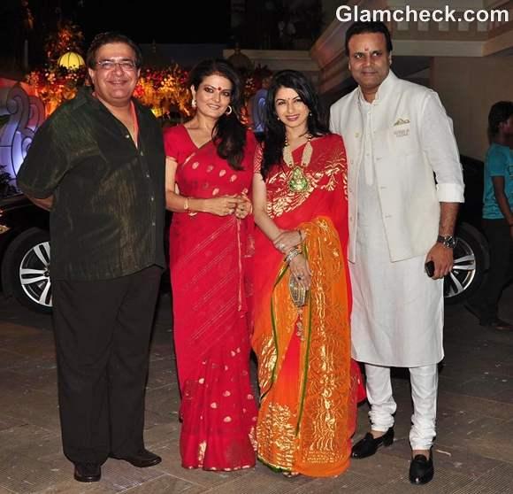 Bhagyashree Sheeba at Sanjay Dutt Mata ki Chowki