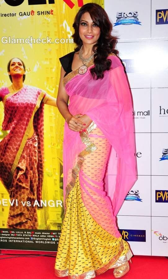 Bipasha Basu saree english Vinglish Premiere