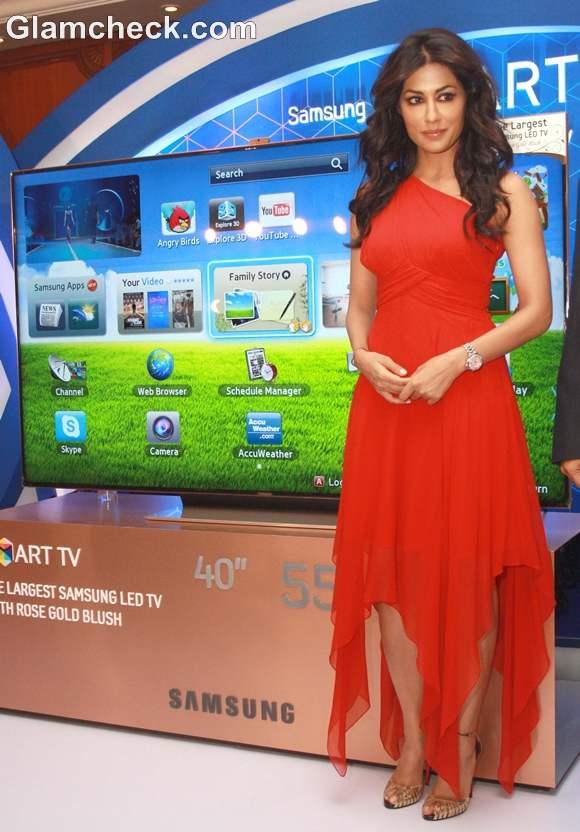 Chitrangda Singh Launch Samsungs 75 inch LED Smart TV