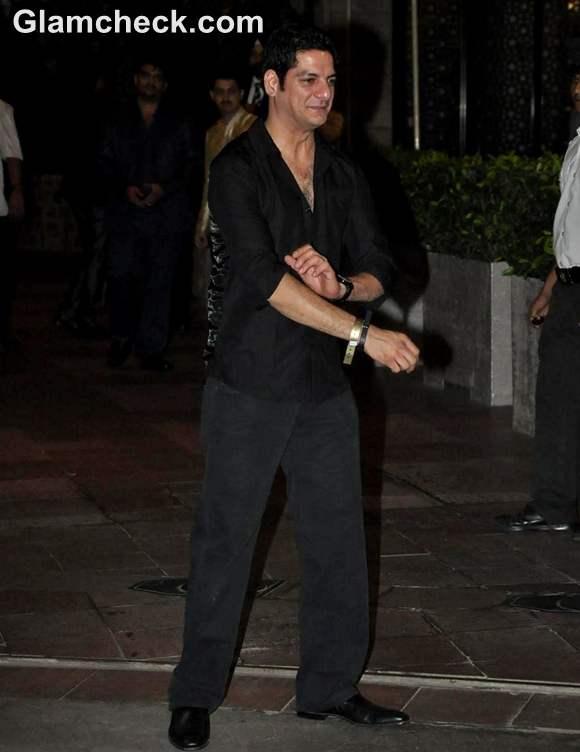 DJ Aqeel Saif Kareena Post Wedding Party Taj Mahal Hotel