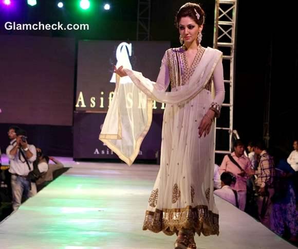 Designer Asif Shah show in Indore